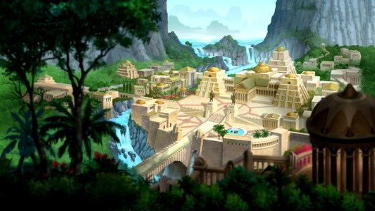 Themyscira-Home Of The Amazons!