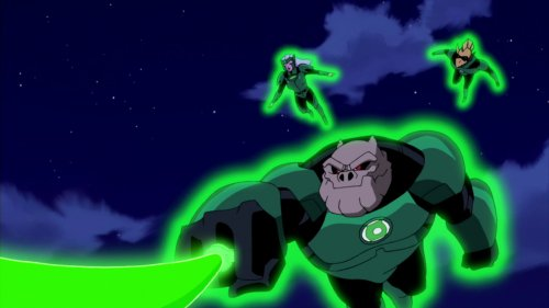 Kilowog, Kanjar-Ro, and Boodikka-GL Proud!