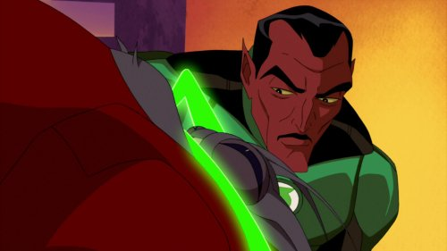 Sinestro-Ruthless In His Work!