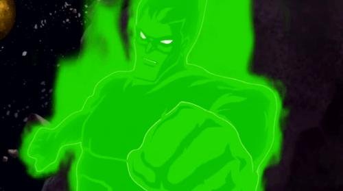 Hal Jordan-Time 2 Go Super Saiyan On Sinestro!