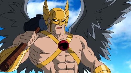 Hawkman-Also Serving Under Luthor!
