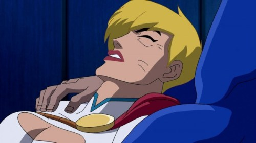 Power Girl-Down For The Count!