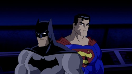 Superman & Batman-Smile For The Camera!
