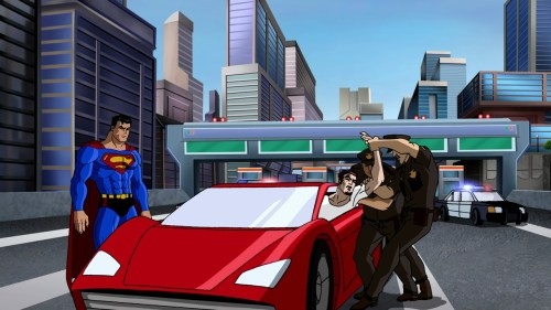 Superman-Helping The Metropolis Police Put An Offender Away!