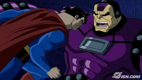 Superman-Mongul's A Pushover By This Point!