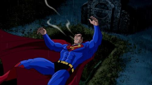 Superman-The Near-Fataility!