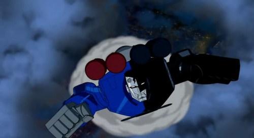 Superman,Batman Robot-Off To Save The World!