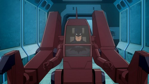 Batman-Striking Back Like Ellen Ripley!