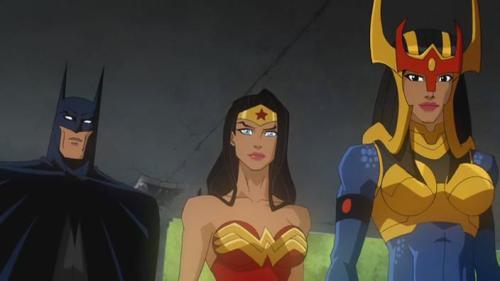 Batman, Wonder Woman, & Barda-Awesome!