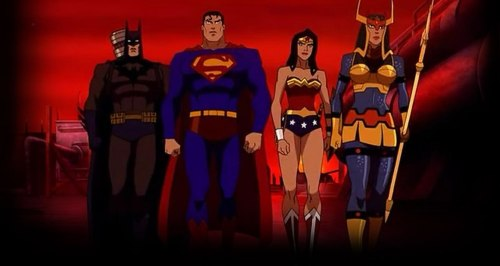 DC's Trinity & Big Barda-Rescue Mission Is On!