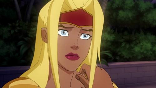 Supergirl-Under The Comfort Of Harbinger's Friendship!