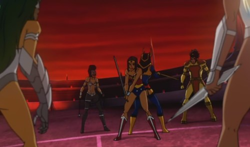 Wonder Woman & Big Barda-Taking The Fight Out Of The Female Furies!