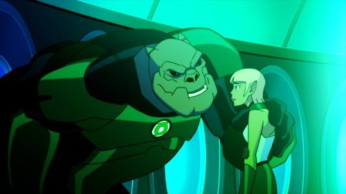 Kilowog-Talking To The Rookie!