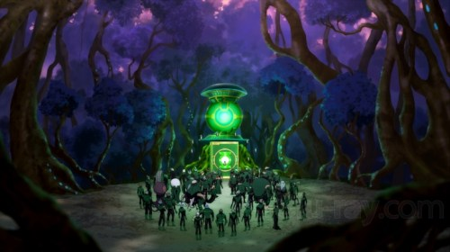 Green Lantern Corps-Victory Meeting!