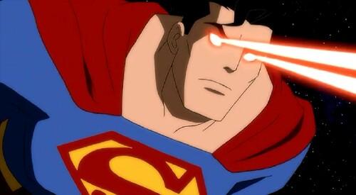 Superman-Missile Blasting!