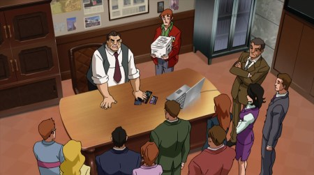 Perry White-The Daily Planet Is Buzzing Over The New Superheroes!