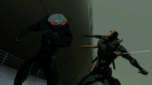 Black Manta & Deathstroke-To The Death!