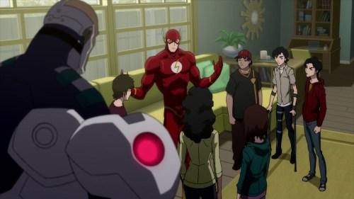Flash & Company-Teamed Up With The Shazam Kids!