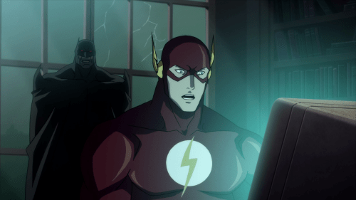 Flash-I Can't Go Through Time!