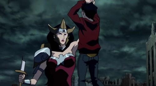 Wonder Woman-Death To Billy Batson!