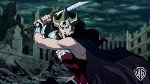 Wonder Woman-Savage Strike!