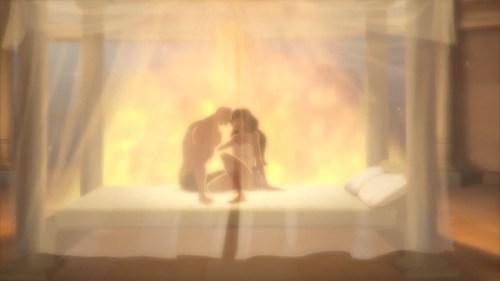 Aquaman & Wonder Woman-An Affair!