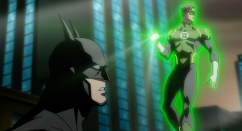 Batman & Green Lantern-Wanted By The Fuzz!