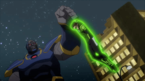 Green Lantern-Darkseid Made Him Very Dis-arming!