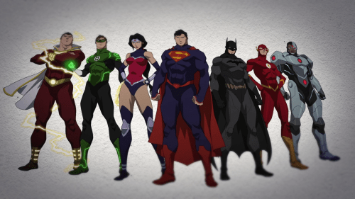 Justice League-United As One!