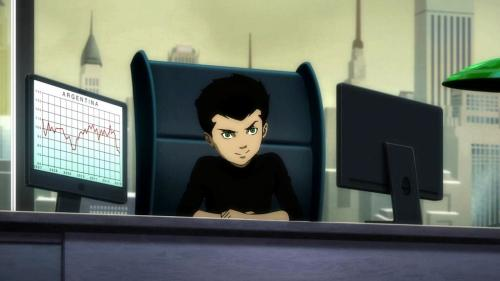 Damian-Hi, Dad!