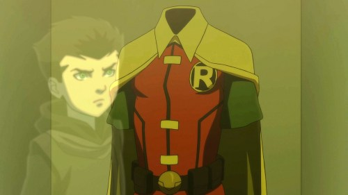 Damian-You Gotta Earn Your Right To Be A Robin!