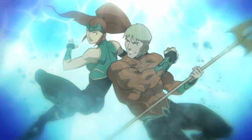 Aquaman & Mera-Closing Out As Fighters & Lovers!