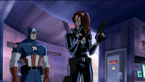 Black Widow-You've Got All The Help U Need, Cap!