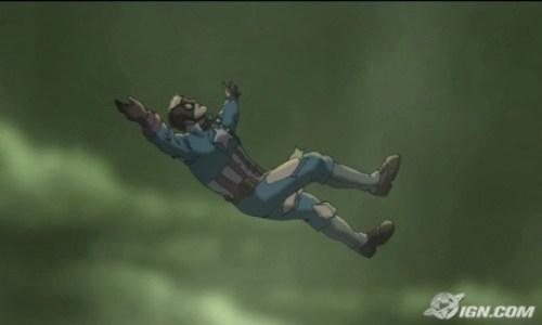 Captain America-Goodbye Forever, 1940s!