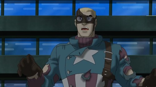 Captain America-Welcome To The Future!