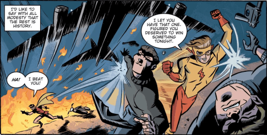 Robin & Kid Flash-The Day Is Saved!