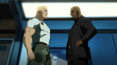 Nick Fury-Consider Yourself On Leave From Field Duty, Cap!