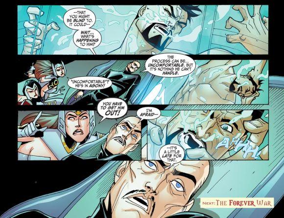 Justice League-Gods & Monsters No. 1-A Painful Cliffhanger!