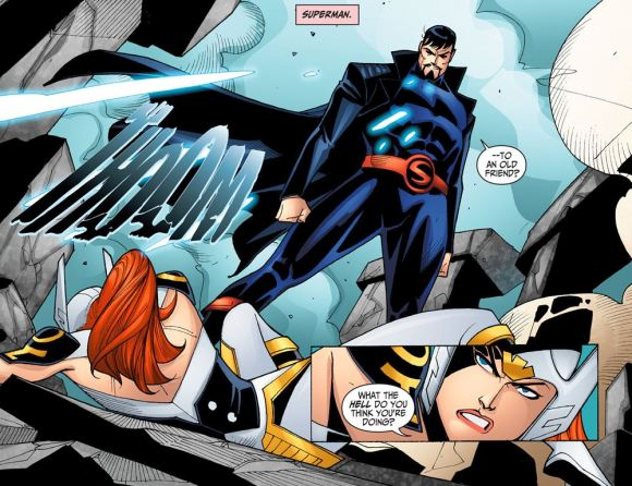 Justice League-Gods & Monsters No. 1-A Smackdown From Krypton!