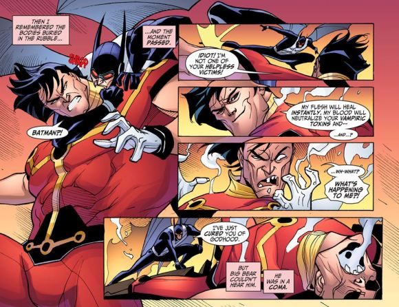 Justice League-Gods & Monsters No. 2-A Fangtastic Ace In The Hole!