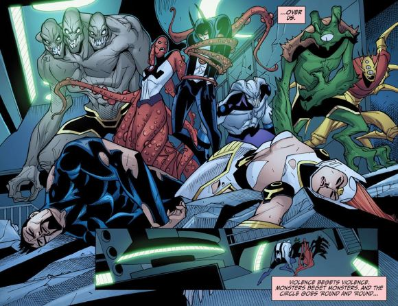 Justice League-Gods & Monsters No. 2-Fallen Heroes!