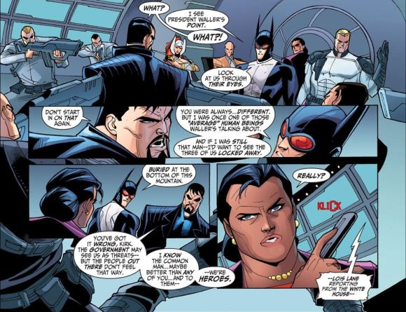 Justice League-Gods & Monsters No. 3-Batman Gets The Picture!