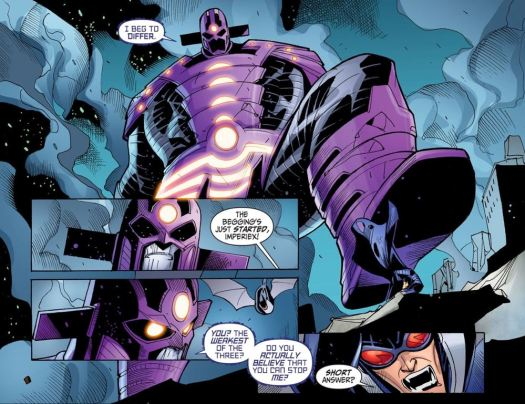 Justice League-Gods & Monsters No. 3-Supes Is On The Ropes!