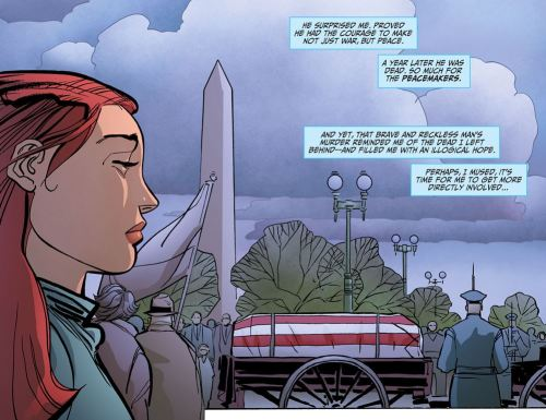 Wonder Woman No. 1-JFK Died In The Name Of Peace!