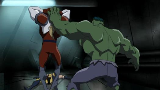 Hulk-Must Smash Tentacle Man!