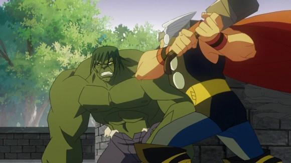 Hulk vs. Thor!