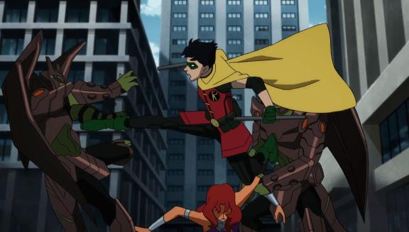 Robin-Let Her Go, Visitors!