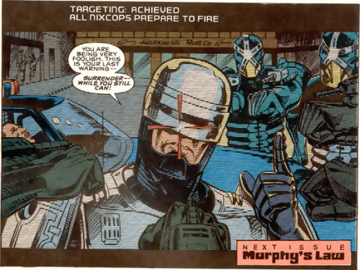 RoboCop #1-Battle Of The Bots!