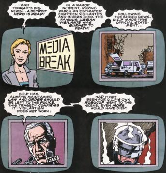 RoboCop #10-Closing News Stories!