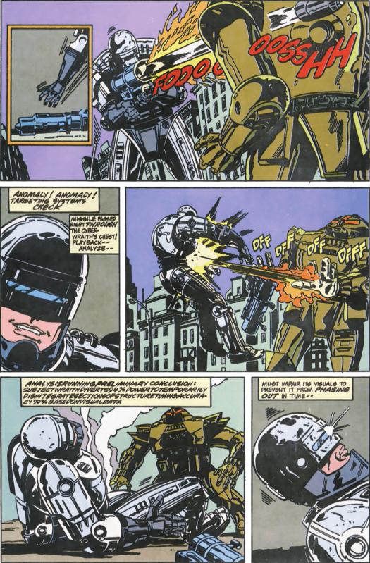 RoboCop #11-Trouble In Combat!